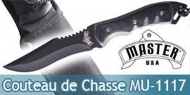 Petit Couteau de Chasse Master USA MU-1117BK