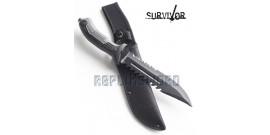 Couteau de Survie Poignard Tactique HK-793BK
