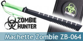 Machette Zombie Hunter Epee Courte ZB-064