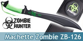 Machette Zombie Hunter Sabre Epee Courte ZB-126