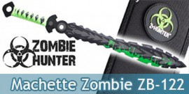 Machette Zombie Hunter Epee Courte Sabre ZB-122