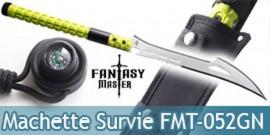 Machette de Survie Epee Fantasy Master FMT-052GN