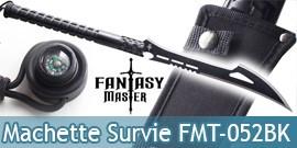 Machette de Survie Epee Fantasy Master FMT-052BK