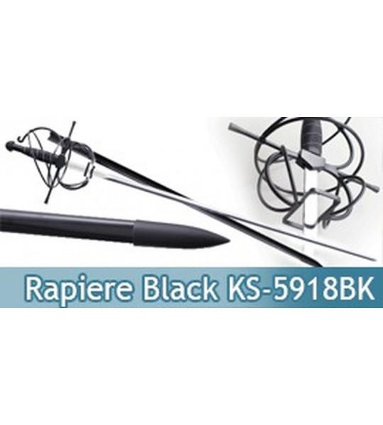 Rapiere Italienne Epée Black Edition - KS-5918BK