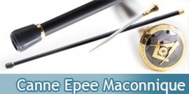 Canne Epee Maconnique HK8038S