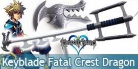 Kingdom Hearts Keyblade Fatal Crest Dragon Replique