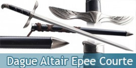 Dague Altair Epee Courte + Fourreau Replique