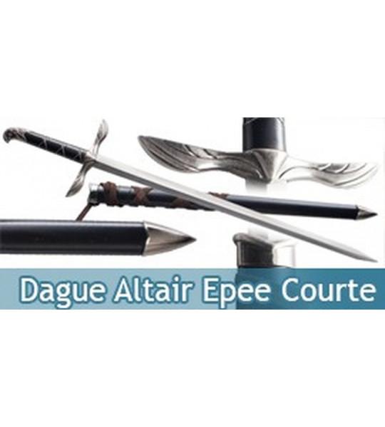Dague Altair Epee Courte + Fourreau Replique