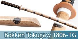 Bokken Epee en Bois Entrainement Tokugawa Ieyasu symbole