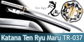 Ten Ryu - Katana Practucal Winter Lame Maru TR-037