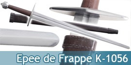 Epee de Frappe d'Entrainement Lame Emoussée K-1056