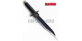 Couteau de Rambo Poignard Dague de Combat + Etui
