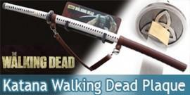 Walking Dead Katana Michonne Sabre + Support