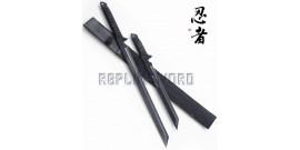 Double Epee Ninja Ninjato Sabre HK-1067 Shinobi