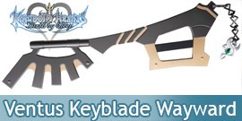 Kingdom Hearts Ventus's Keyblade Wayward Wind Epee
