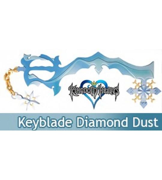 Kingdom Hearts Keyblade Diamond Dust Gemme de Glace