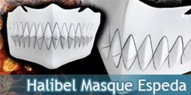 Mask Tia Halibel Masque Espeda N°3 Cosplay