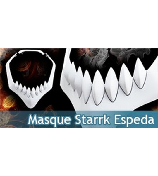 Mask Coyote Starrk Masque Espeda N°1 Cosplay