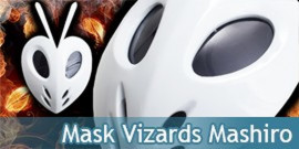 Mask Vizards Mashiro Kuna Hollow Masque Colsplay