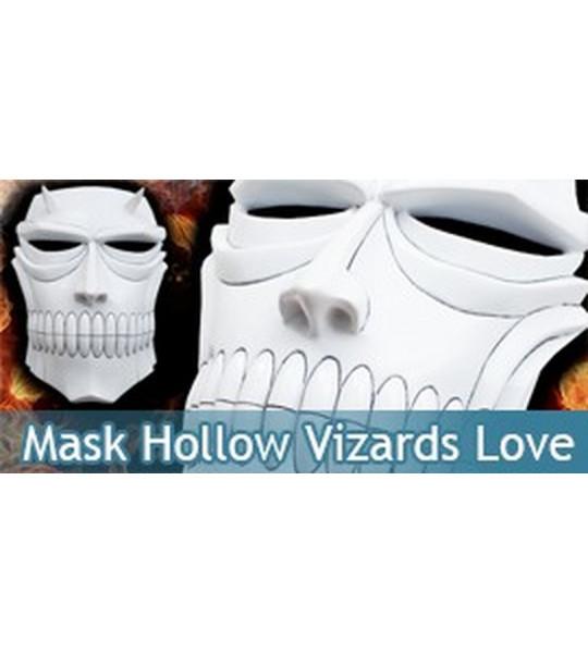 Mask Hollow Vizards Love Aikawa Masque Cosplay Masque