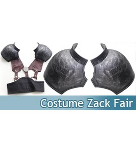 Costume Zack Fair Cosplay avec Epauliere