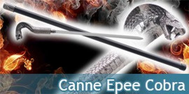 Canne Epee Cobra Serpent
