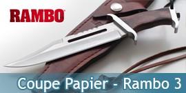 Mini Couteau Rambo MC-RB3SS Coupe Papier Miniature