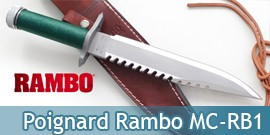 Couteau de Chasse Rambo First Blood Master Cutlery