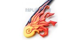 Kingdom Hearts Keyblade One Winged Angel Fire Feu