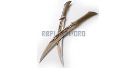 Le Hobbit Dagues de Tauriel Elfe Epees Sabres Efliques