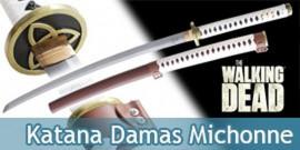 Katana Lame Damas Michonne - The Walking Dead