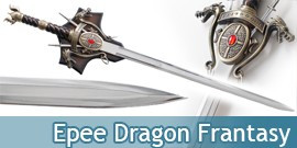 Epee Dragon Medievale Decoration Fantasy