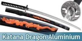 Katana Dragon Lame en Aluminium Epee Sabre