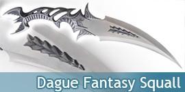 Dague Fantasy Decoration Squall Poignard Fantastique