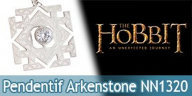 Le Hobbit Bijou Pendentif Arkenstone Argent NN1320