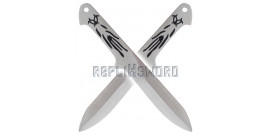Set 2 Couteaux a Lancer Altair Replique