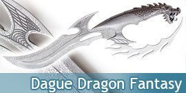 Dague Dragon Fantasy Decoration Fantastique