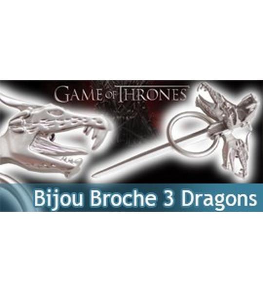 achat bijou de la mere des dragons de game of thrones. Black Bedroom Furniture Sets. Home Design Ideas