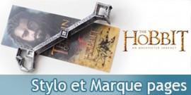 Le Hobbit Cle de Thorin Stylo et Marque pages