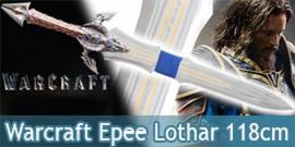 Warcraft Epee de Lothar Replique Acier 118cm