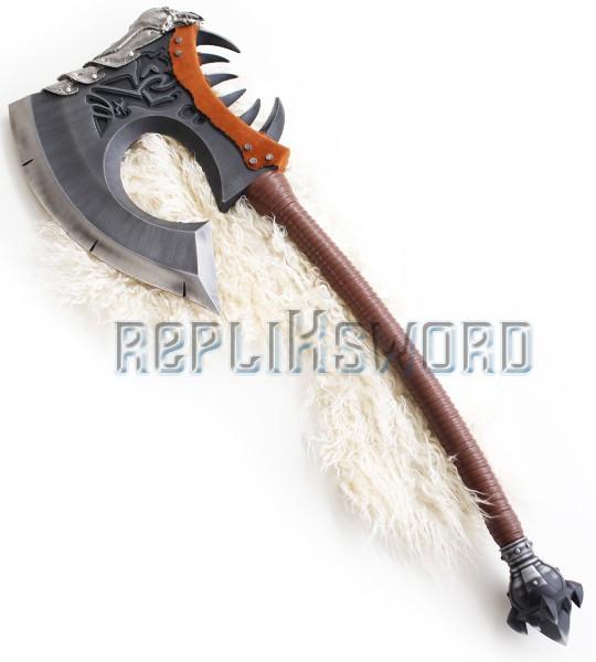 Warcraft Grom Grommash Hache Gorehowl Hellscream