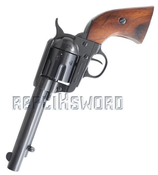 Revolver DENIX Colt 45 Cowboy Western Replique Noir