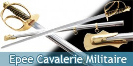 Epee Cavalerie Sabre Militaire Decoration Replique