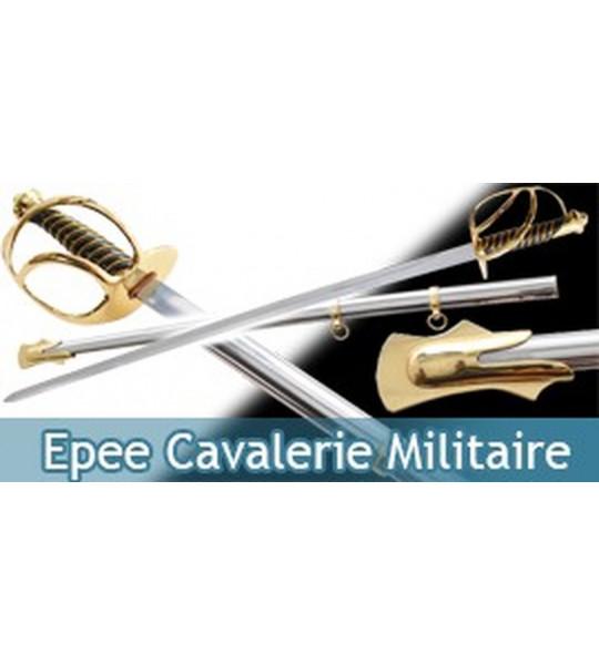 Epee Cavalerie Sabre Militaire Decoration Replique