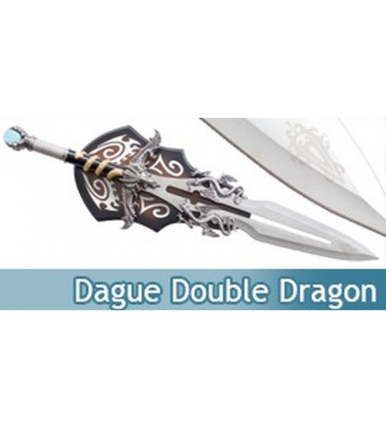 Dague Double Dragon Decoration Epee Replique