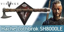 Vikings Hache Ragnar Lothbrok Hachette Edition Limitée