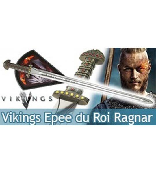 Vikings Epee du Roi Ragnar Lothbrok Edition Limitée