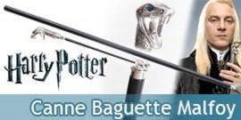 Harry Potter Canne Serpent de marche Malfoy Baguette