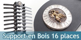 Support en Bois 16 places Katanas Presentoir Epee