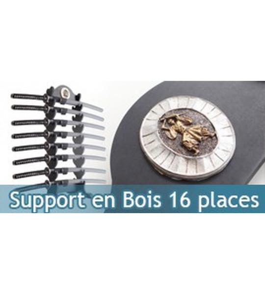 Support en Bois 16 places Katanas Presentoir Epee
